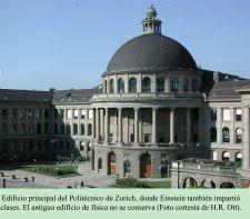 Edificio principal del Politécnico de Zurich