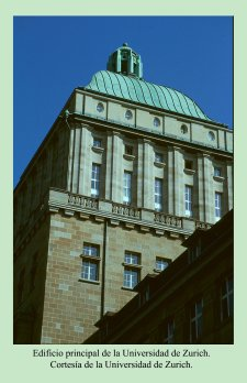 Edificio principal de la Universidad de Zurich