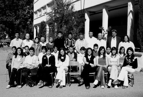 Alumnado y profesorado del IES Antonio de Mendoza