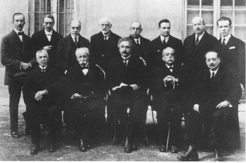 Visita de Einstein a la Facultad de Ciencias de la Universidad de Madrid