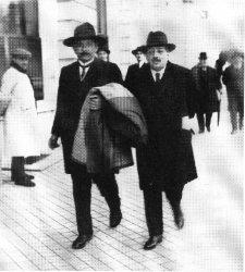 Albert Einstein y Blas Cabrera