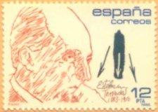 Sello conmemorativo de Esteban Terradas