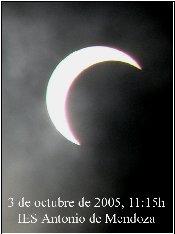 Eclipse del 3 de octubre de 2006 desde Alcalá la Real