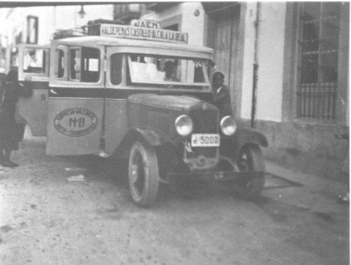 Primeros transportes públicos en Alcalá